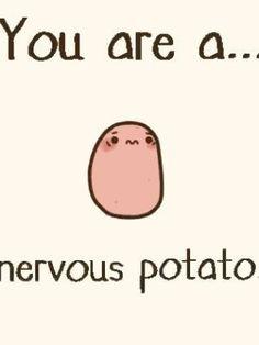 Potato Quotes, Potato Meme, Potato Funny, Cute Potato, Cute Animal Memes, Cute Memes, Funny Cute, Funny Memes, Tiny Potato
