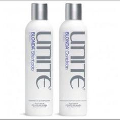 Unite Blonda Shampoo Conditioner Duo Set Toning Blonde 8 oz Pro Eurotherapy | eBay