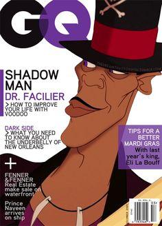Disney Magazine Covers - Shadow Man - GQ