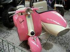 Bildergebnis für vespa helm retro rosa pink