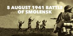 5 August The Battle of Smolensk ends with Germany taking Red Army soldiers as prisoners Army Soldier, Red Army, Wwi, World War Ii, Soldiers, Prison, Battle, Germany, History