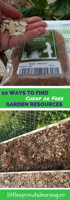 Gardening can be a super expensive hobby or a super inexpensive one. It all depends on how you get your resources. Be creative.