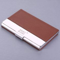 Ermenegildo zegna small leather goods business card holder men montblanc red leather and silvertone business card holder reheart Images