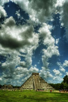 The Mayan ruins of Chichen-Itza, in the Yucatan Peninsula