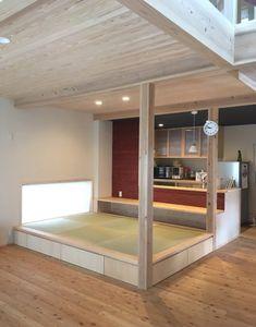 たった3畳の畳スペースが想像以上に大活躍!【丁寧な暮らしを楽しむ木の家つくり】 - Yahoo!不動産おうちマガジン Small Rooms, Small Apartments, Small Spaces, Tatami Room, Japanese Interior Design, Japanese House, Interior Design Living Room, Interior Architecture, House Design