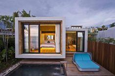 estupendo diseño de casa en forma de cubo