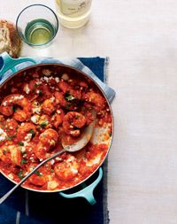 Spicy Shrimp Marinara with Feta - Healthy Recipe Finder | Prevention