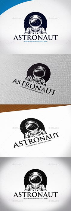 Space Astronaut Logo Template  — PSD Template #web #outerspace • Download ➝ https://graphicriver.net/item/space-astronaut-logo-template/18554307?ref=pxcr