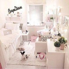 All white bedroom luxe @Loddon #mura