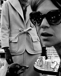 Frank Horvat, Cafe de Flore 1961