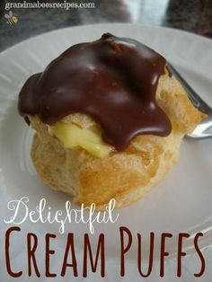 // // Is there anybody you know who doesn't like cream puffs? I mean. what's not to like about them? They are light and fluffy and filled with a custard-y pudding (or other delicious filling) and t...