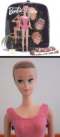 1963 Vintage Miss Barbie Carrying Case vinyl with Doll (Sleep Eyes) 1060 , Swing Fabric, Planter Barbie Miss, Play Barbie, Barbie And Ken, Disco Night, Barbie Accessories, Vintage Barbie Dolls, Barbie Collector, Barbie World, Barbie Friends