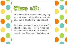 Birthday - Scooby Doo Mystery Birthday Party Ideas | Photo 1 of 23 | Catch My Party