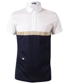 DIOR HOMME   Colour Blocked Cotton Polo Shirt Sport Fashion, Mens Fashion,  Boy Fashion 546c66739a01