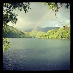 Lake & rainbow Patillas PR