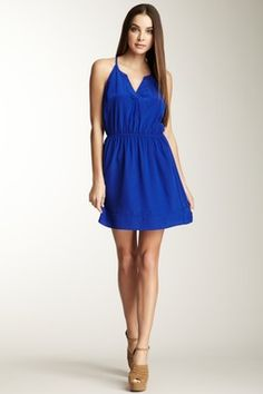 Bridgette Silk Racerback Dress