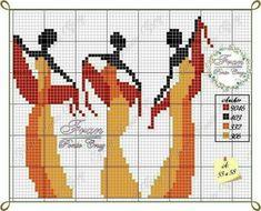Cross Stitch Borders, Cross Stitching, Cross Stitch Embroidery, Cross Stitch Patterns, Tapestry Crochet, Crochet Motif, Crochet Stitches, African Design, Loom Patterns