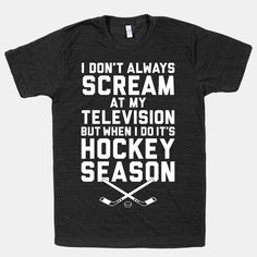if people knew how true this was about me, they'd be shocked. The closest I ever come to dropping an F-bomb is during a Pens/Flyers game. I promise I am normal when it's not hockey season! Flyers Hockey, Blackhawks Hockey, Hockey Teams, Chicago Blackhawks, Flyers Players, Hockey Apparel, Basketball Playoffs, Hockey Baby, Funny Hockey