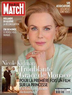 "Nicole Kidman on the cover of ""Paris Match"""