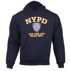 NYPD Pullover Hoodie