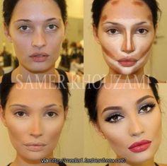 Contour | Makeup. The miracle of contouring.