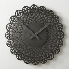ratchet wall clock - cb2.com