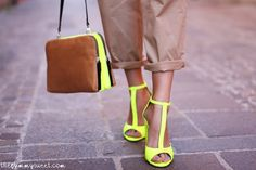 Neon shoes « Gypsy Luster