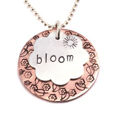 Beaducation: Jewelry Making Tools, Supplies, and FREE Classes metal stamping tutorial Hand Stamped Metal, Hand Stamped Jewelry, Metal Jewelry, Beaded Jewelry, Handmade Jewelry, Jewelry Armoire, Silver Jewelry, Diy Jewellery, Jewellery Making