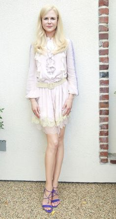 """Nicole Kidman in Blumarine attends a photocall for """"Top of the Lake: China Girl"""" in L.A. #bestdressed"""