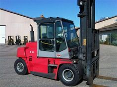 "#usedforklifts #materialhandling #kalmar Kalmar DCE75 Used Forklift / Capacity: 16,500 / Year: 2007  / Mast: 145 / 197 STD / DIESEL, AUTO, S/S, F/P, CAB W/ HEAT & A/C, 54"" FORKS - CALL 952-492-3900"
