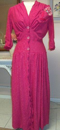 Chenille Glamour Girl Bath Robe / Item 23 / Women by bonnilanese, $130.00
