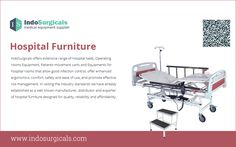 Hospital Furniture Supplier in India - http://www.indosurgicals.com/hospital-furniture-manufacturer/index.php