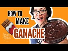 Is your ganache lumpy, bumpy, broken or runny? This tutorial teaches you everything you ever needed to know about how to finally make the perfect ganache. Chocolate Ganache Frosting, Ganache Recipe, Icing Recipe, Chocolate Desserts, Just Desserts, Dessert Recipes, Cupcake Cream, Flourless Cake, Whipped Cream Frosting