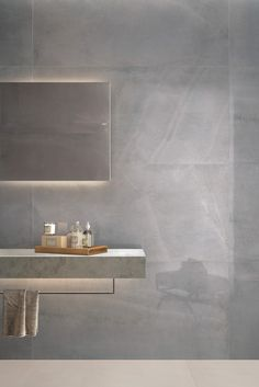 Tiles - Allover - Feel how to give luxury and distinction to your project . Minoli Tiles - Allover - Feel how to give luxury and distinction to your project .,Minoli Tiles - Allover - Feel how to give luxury and distin. Grey Marble Bathroom, Marble Floor Kitchen, Grey Marble Tile, Grey Wall Tiles, Concrete Bathroom, Stone Bathroom, Grey Bathrooms, Beautiful Bathrooms, Concrete Look Tile