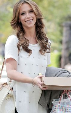 Love the hair - colour  style. Wish my hair would hold curls like this!