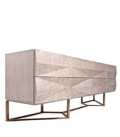 The Canyon Credenza is available online and at The Bright Group showrooms. Custom sizes and finish options are available. Handcrafted in America.
