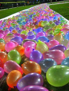 Water balloon slip and slip