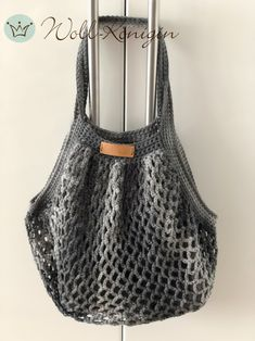 Ich liebe diese gehäkelten  Einkaufstaschen Bags, Fashion, Nice Things, Shopping, Love, Tutorials, Nice Asses, Handbags, Moda