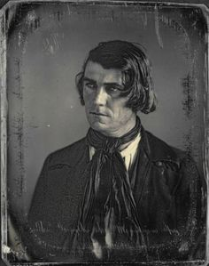 ca. 1847, [daguerreotype portrait of Thomas Forsyth, mountain spy and guide], Thomas M. Easterly via the Missouri History Museum