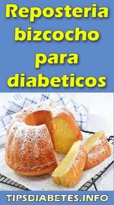 Diabetes, Cake Recipes, Dessert Recipes, Pan Dulce, Sin Gluten, Diabetic Recipes, Health And Nutrition, Yummy Cakes, Hot Dog Buns