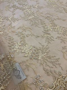 Luxury 3D beige flower lace fabric, light pink , pearl beaded, hand made, 3d cream chantilly lace fabric, 3D lace, embroidered lace K00718 Work Sarees, Chantilly Lace, Churidar, Embroidered Lace, Pearl Beads, Lace Fabric, Beauty Care, Badges, Embroidery Designs