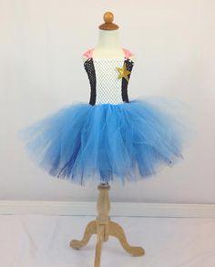Sheriff Callie Costume Tutu Dress with by JustaLittleSassShop