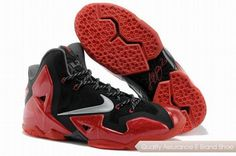 2a0d483b1a7 Nike LeBron 11 Miami Heat Black Red Basketball Shoes. Hot Sold Cheap lebron  11 shoes