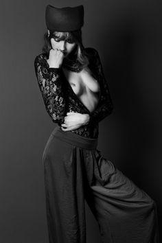 Stunning shoot of Jay Briggs's lace leotard featured in Notion magazine!   Photographer: Jemima Marriott Stylist: Jemima Marriott