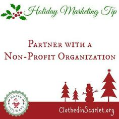 Holiday Marketing Tip: Partner with a Non-Profit Organization