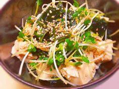 簡単☆豆腐ポン酢サラダの画像