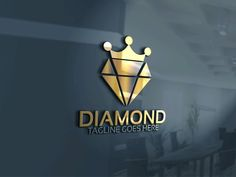 Diamond King Logo by Josuf Media on @creativemarket