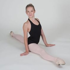 Ballet inspired stretches for hip flexors, hams, and glutes.