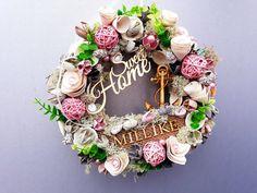 #noridekor #egyedi #dekoráció Floral Wreath, Wreaths, Home Decor, Floral Crown, Decoration Home, Door Wreaths, Room Decor, Deco Mesh Wreaths, Home Interior Design