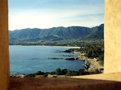 Sardinia Beaches in the marina of Tertneia here is a View From St Johns Tower in Sarrala